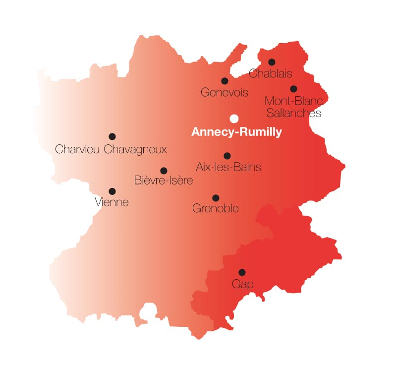 Carte CCS Annecy-Rumilly